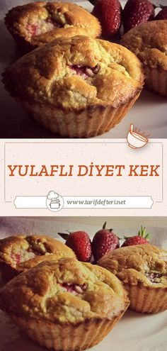 Healthy Desserts, Healthy Recipes, Muffin, Diet, Cakes, Cooking, Breakfast, Food, Health Desserts