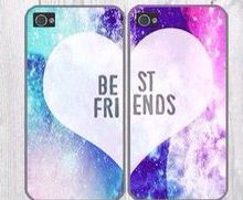 Cute Galaxy best friend phone cases