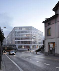 Lugano office block - Durisch + Nolli,
