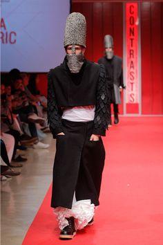 "IED ""Contrasts"" 2013 Fashion Show: Andra Handaric. #Barcelona"