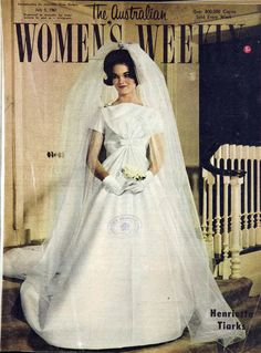 Women's Weekly bridal special, 1961