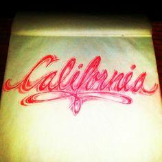 California Love....tattoo sketch by - Ranz