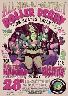 Best bout poster ever. Not that I'm biased or anything.