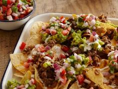 Get Beef Nachos Recipe from Cooking Channel