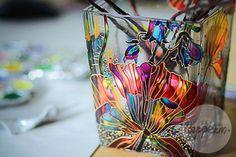 """Вазы ручной работы. Ярмарка Мастеров - ручная работа. Купить Ваза """"Полевые цветы"""". Handmade. Разноцветный, ваза декоративная, для цветов"""
