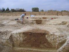 Les archéologues de lInrap à Alenya pour les journées européennes du patrimoine