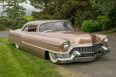 1955 CADILLAC COUPE DE VILLE CUSTOM COUPE - Barrett-Jackson Auction Company - World's Greatest Collector Car Auctions