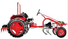 Cleber is the first U.-based company to construct and operate a manufacturing facility in Cuba. The company will manufacture low-tech tractors for small farms. Small Tractors, Compact Tractors, Old Tractors, Antique Tractors, Vintage Tractors, Walk Behind Tractor, Kawasaki Motorcycles, Triumph Motorcycles, Custom Motorcycles