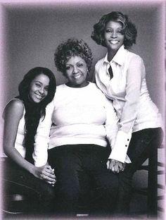 Bobbi Kristina, Cissy & Whitney.