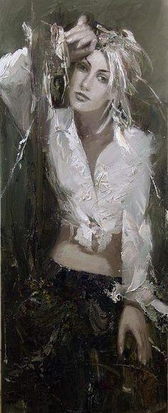 Mstislav Pavlov, 1967 - Russian impresionist painter