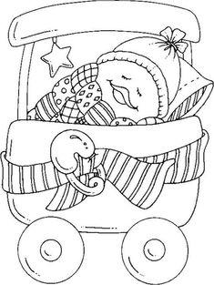 desenhos riscos patinhos decoracao quarto  pintura fraldas bebe (8)