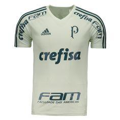 93110b4a78 Camisa Adidas Palmeiras Treino 2017 Com Patrocínio Somente na FutFanatics  você compra agora Camisa Adidas Palmeiras