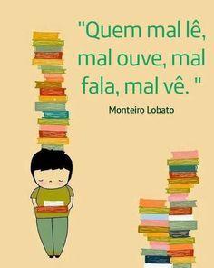 40 Melhores Imagens De Monteiro Lobato Texts Literatura E Note Cards