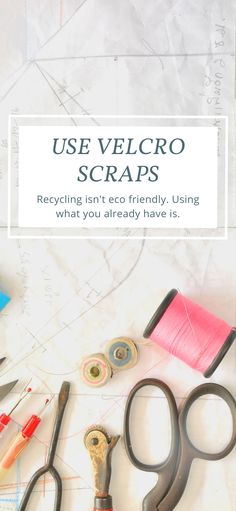 Leftover Velcro scraps don't have to go in the trash! Skip the recycling bin. The most eco friendly way to deal with scraps from craft projects is to use them. Velcro hacks, ideas, and genius uses. Hook and loop fasteners can be used in so many DIY projects and quick fix sewing projects. You can even add them to sneakers or use them in the classroom! Velcro activities and craft ideas. Easy DIY crafts for kids and adults. Dollar store ideas for Spring and Summer. Crafts for girls. Velcro crafts