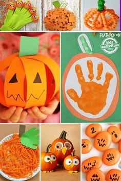 30 Easy Pumpkin Activities