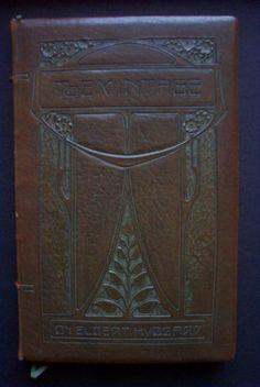 Roycroft book: The Minatage by Elbert Hubbard