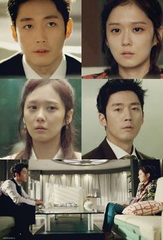 "(100+) fated to love you | Tumblr= The way they look at each other when they realized it was ""the end"". Their eyes speak a million words their mouth can't…. It hits bad, it really does…major props to Jang Hyuk and Jang Nara for doing such an AMAZING job on portraying Lee Gun and Mi Young's pain and yearning. You can see how vulnerable they both are."