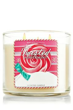 Twisted Peppermint 14.5 oz. 3-Wick Candle - Slatkin & Co. - Bath & Body Works http://www.bathandbodyworks.com/product/index.jsp?productId=24386356&cp=12586994.12936203.22937666