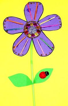 Flower Craft - Free craft for kids