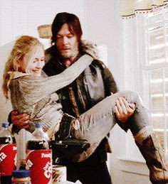 Beth and Daryl, season 4. They are cute together #teambethyl