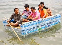 http://BlueChipMoney.com - #Recycling At It's Best.. #BottleBoat