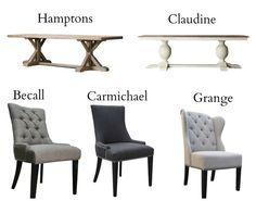 hamptons dining room - Google Search