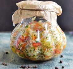 Sałatka z letnich warzywa