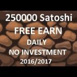 250000 Satoshi Free Earn Daily Without Investment Playing Game