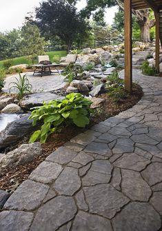 Variedad de plantas para jardines más amplios.