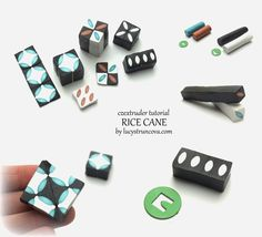 Tutorial by Lucy Struncova - Rice cane