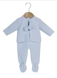 89f3d628703 Details about Dandelion Baby Boys Spanish style knitted 2 Pcs Top   Short  Blue   White NB-12M