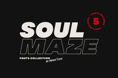 MADE Soulmaze is a display fonts collection. The collection includes 5 fonts.The Soulmaze will perfect for many project: fashion, magazines, logo, Sans Serif Fonts, Script Fonts, Serif Typeface, Handwriting Fonts, Typographie Fonts, Best Free Fonts, Font Free, Bold Logo, Modern Fonts