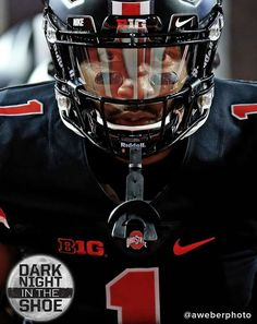 Braxton in the Dark Night Uni. Fall Football, Buckeyes Football, College Football Teams, Ohio State Football, Ohio State University, Ohio State Buckeyes, Collage Football, Ncaa College, Football Season
