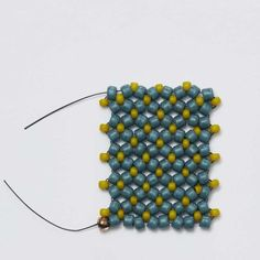 How to do the flat chenille ~ Seed Bead Tutorials