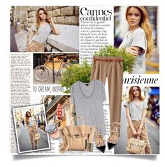 """""""Arrival in Cannes"""" by willapritia ❤ liked on Polyvore featuring Magdalena, Bobbi Brown Cosmetics, Helmut Lang, Valentino, 3.1 Phillip Lim, LORAC, women's clothing, women's fashion, women and female"""