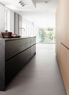 #kitchen design #minimal -penthouse Bonn in Hamburg, Germany ┃ Eggersmann