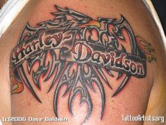 harley davidson pin up tattoos | Pin In The Harley Tattoos Are Glittering Roses Or Landing Eagles Wings ...