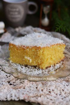 Bulgarian Desserts, Bulgarian Recipes, Bulgarian Food, My Favorite Food, Favorite Recipes, My Favorite Things, Vanilla Cake, Family Meals, Recipies