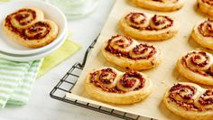 Wewalka Summer Palmiers: These palmiers make a great appetizer or try as a gourmet twist to your normal dinner bread.  http://wewalka.us/recipes/summer-palmiers