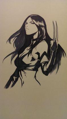 X-23 (Laura Kinney) by wsjoop1119.deviantart.com on @deviantART