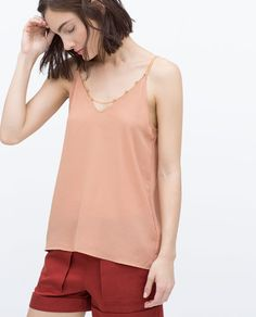 ZARA - WOMAN - CAMISOLE TOP