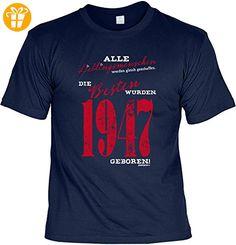 Cooles T-Shirt zum 70. Geburtstag Lieblingsmenschen 1947 geboren Geschenk 70. Geburtstag 70 Jahre Geburtstagsgeschenk Geschenk Opa Oma Großeltern (*Partner-Link)