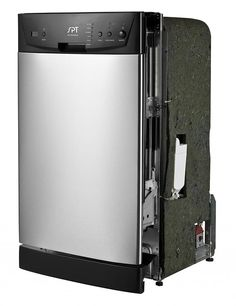 SPT Energy Star 18 Built-In Dishwasher Stainless Steel Drawer Dishwasher, Best Dishwasher, Built In Dishwasher, Stainless Steel Dishwasher, Dishwasher Tablets, Best Build, Kitchen On A Budget