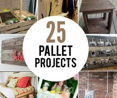 25 Wood Pallet Projects