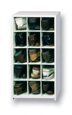 The 15 Pair Large Shoe Cubby Is Your Solution For A Messy Closet Floor.  Made For Menu0027s Shoes This Cubby Organizer Stores Heel To Toe To Prevent  Scuffs.