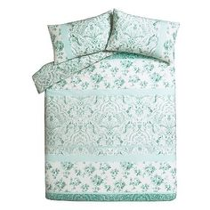 Duck Egg Patch Duvet Cover   Home & Garden   George at ASDA