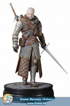 Оригинал (other):The Witcher 3: Wild Hunt Имя персонажа:Geralt of Rivia  Дата выпуска:Сентябрь, 2017 Тип фигурки:Completed Model Материал:PVC Высота:200 мм Производитель:Dark Horse