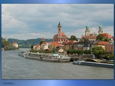 Panoramio - Photo of Passau Germany Oh The Places You'll Go, Places To Travel, Places Ive Been, Travel Destinations, Travel Europe, Passau Germany, Down The River, Italy Art, Danube River