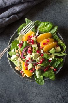 Orange Pomegranate Salad | Tastes Better From Scratch