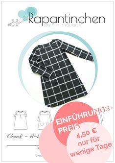 Neues Ebook - Endlich A-Linien-Kleid MISS LONDON | Rapantinchen